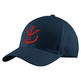 Super Saiyan Red Vegeta Crest Structured Twill Cap - PF00188TC - The Tshirt Collection - 3