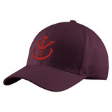 Super Saiyan Red Vegeta Crest Structured Twill Cap - PF00188TC - The Tshirt Collection - 6