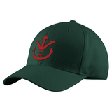 Super Saiyan Red Vegeta Crest Structured Twill Cap - PF00188TC - The Tshirt Collection - 8