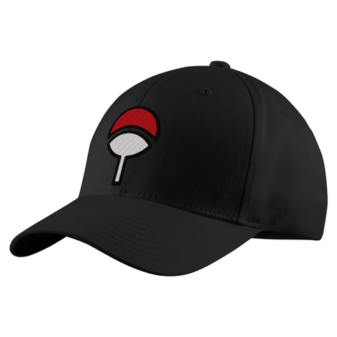 Naruto Uchiha Clan Structured Twill Cap - PF00300TC - The TShirt Collection