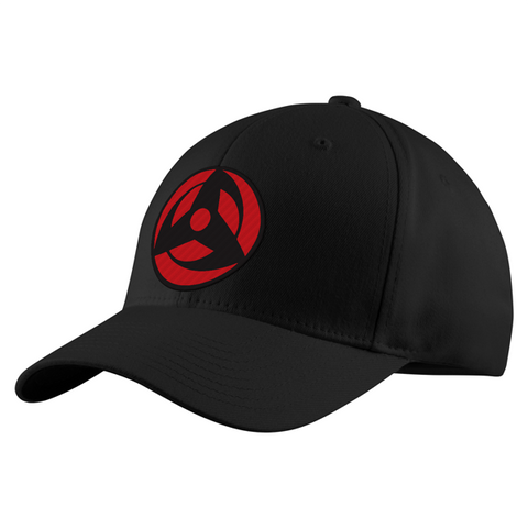 Naruto Akashi Eye Symbol Structured Twill Cap - PF00303TC - The TShirt Collection