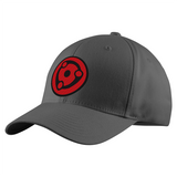 Naruto Madara Eye Symbol Structured Twill Cap - PF00307TC - The TShirt Collection