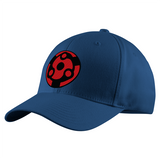 Naruto Madara Eternal Eye Symbol Structured Twill Cap - PF00308TC - The TShirt Collection