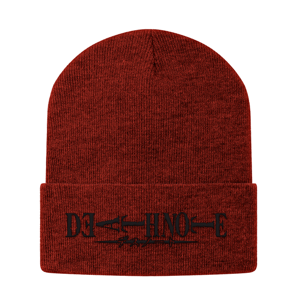 Death Note Black Symbol Beanie - PF00321BN - The TShirt Collection