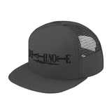 Death Note Black Symbol Trucker Hat - PF00321TH - The TShirt Collection