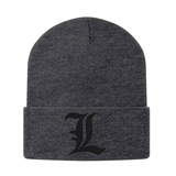 Death Note L Beanie - PF00322BN - The TShirt Collection