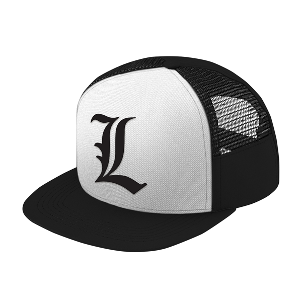 Death Note L Trucker Hat - PF00322TH - The TShirt Collection