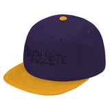 Death Note Symbol Snapback - PF00324SB - The TShirt Collection