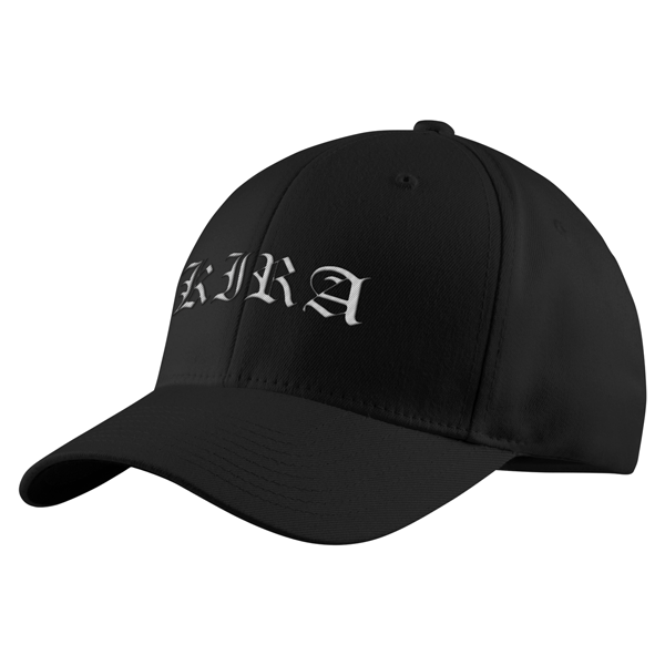 Death Note Kira White Symbol Structured Twill Cap - PF00326TC - The TShirt Collection
