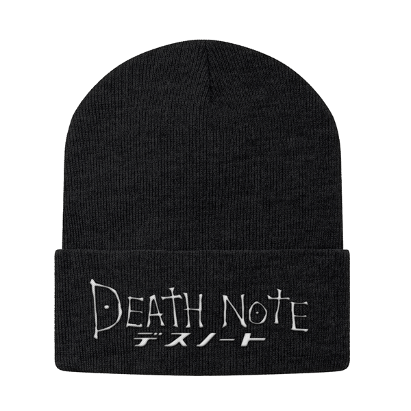 Death Note White Symbol Beanie - PF00327BN - The TShirt Collection