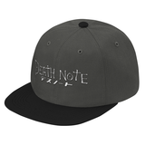 Death Note White Symbol Snapback - PF00327SB - The TShirt Collection