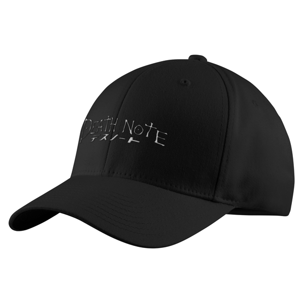 Death Note White Symbol Structured Twill Cap - PF00327TC - The TShirt Collection