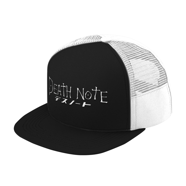 Death Note White Symbol Trucker Hat - PF00327TH - The TShirt Collection