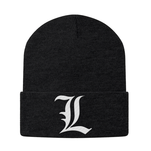 Death Note L Beanie - PF00329BN - The TShirt Collection