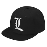 Death Note L Snapback - PF00329SB - The TShirt Collection