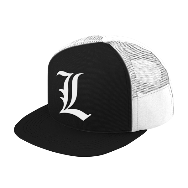 Death Note L Trucker Hat - PF00329TH - The TShirt Collection