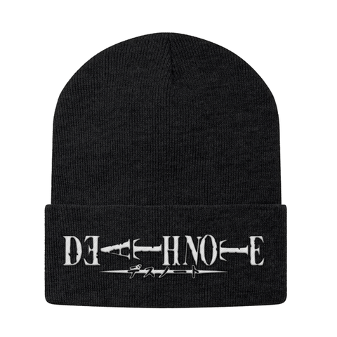Death Note White Symbol Beanie - PF00330BN - The TShirt Collection