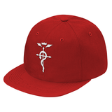 Fullmetal Alchemist White Symbol Snapback - PF00333SB - The TShirt Collection