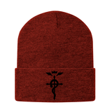 Fullmetal Alchemist Black Symbol Beanie - PF00334BN - The TShirt Collection