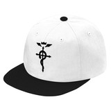 Fullmetal Alchemist Black Symbol Snapback - PF00334SB - The TShirt Collection