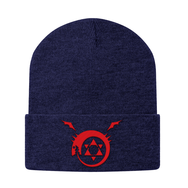Fullmetal Alchemist Ouroboros Beanie - PF00337BN - The TShirt Collection