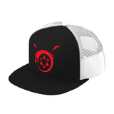 Fullmetal Alchemist Ouroboros Trucker Hat - PF00337TH - The TShirt Collection