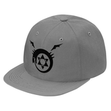 Fullmetal Alchemist Ouroboros Black Symbol Snapback - PF00338SB - The TShirt Collection
