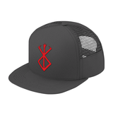Berserk Red SymBol Trucker Hat - PF00340TH - The TShirt Collection