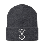 Berserk White Symbol Beanie - PF00341BN - The TShirt Collection