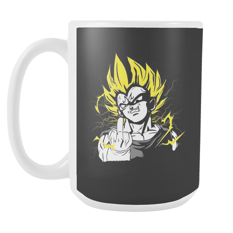 Super Saiyan - They act like they - 15oz Coffee Mug - TL01209M5