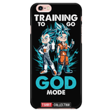 Super Saiyan Goku and Vegeta God Blue iPhone 6/6s 6/6s plus Phone Case - TL00011PC-BLACK