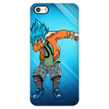 Super Saiyan - Goku SSj God Blue DAB Dance - Iphone Phone Case - TL00974PC