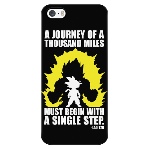 Super Saiyan - A Journey of A Thousand Miles - Iphone Phone Case - TL01185PC