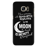 Funny T Shirt - I love someone to the moon and back - Android Phone Case - TL01350AD