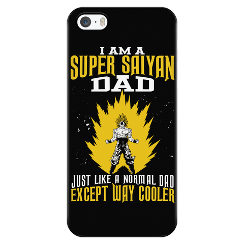 Super Saiyan - I am a super saiyan dad - Iphone Phone Case - TL01135PC