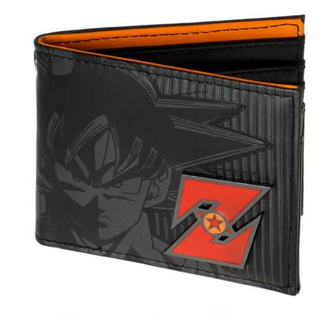 Dragon ball z wallet Young men and women students anime fashion short wallet