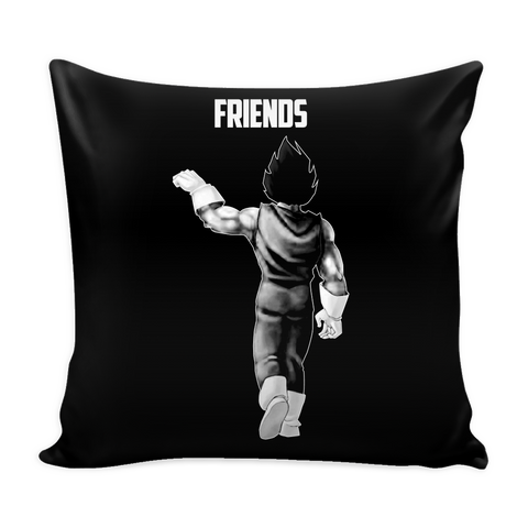"Super Saiyan Vegeta Best Friend For Life Pillow Cover 16"" - TL00563PL"