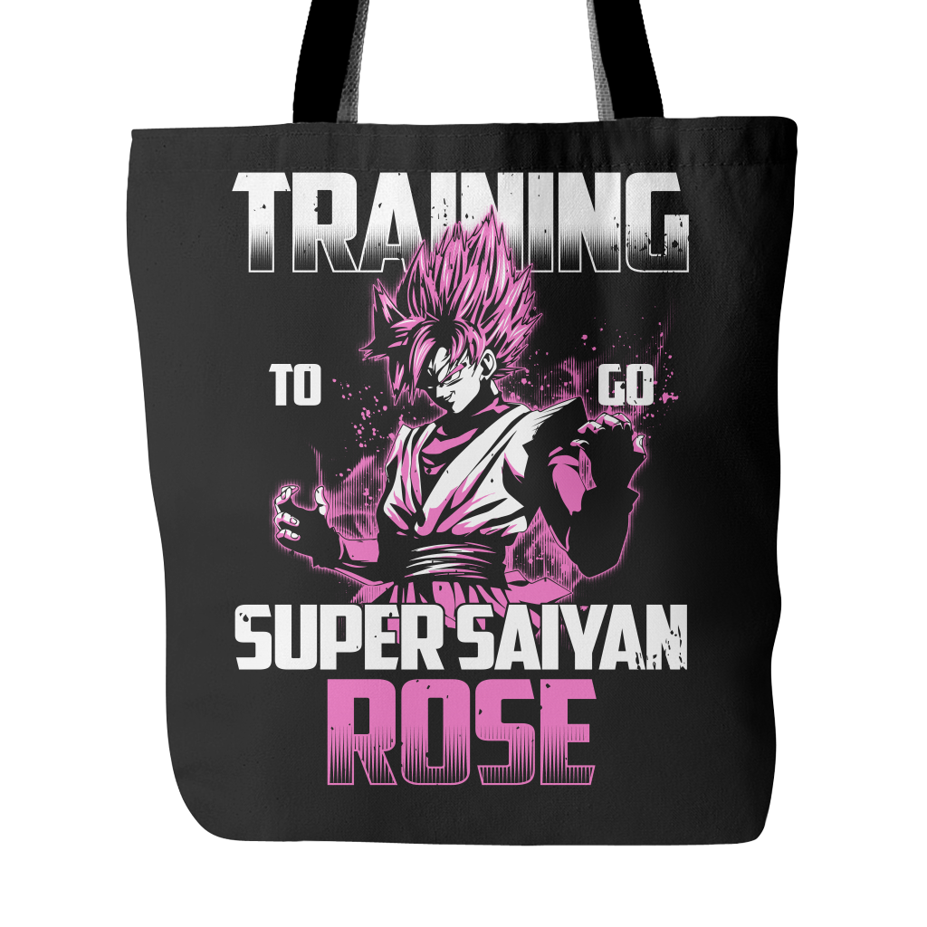 Super Saiyan - Training to go Super Saiyan Rose - Tote Bag - TL00817TB
