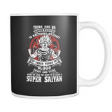 Super Saiyan GOKU TRAINING TO GET YOUR TITLE 11oz Coffee Mug - TL00045M1