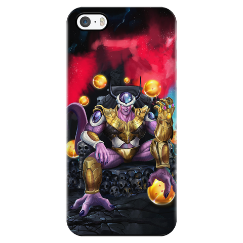 Dragon Ball Avenger Endgame Frieza Infiniti war Thanos Stone  - iPhone phone case - TL01708PC