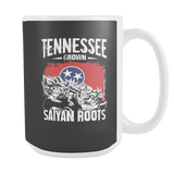 Super Saiyan Tennessee Grown Saiyan Roots 15oz Coffee Mug - TL00148M5