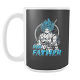Super Saiyan Goku God Dad 15oz Coffee Mug - TL00486M5