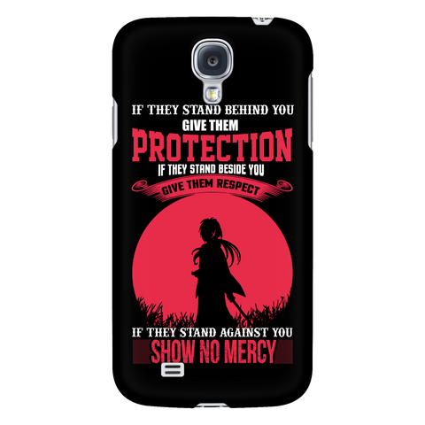 Rurouni Kenshin - If They Stand Against You, Show No Mercy - Android Phone Case - TL01078AD