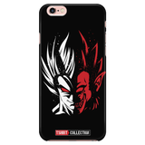Super Saiyan Goku Half Face iPhone 5, 5s, 6, 6s, 6 plus, 6s plus phone case - TL00248PC-BLACK