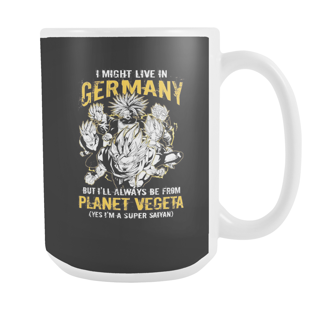 Super Saiyan I May Live In Germany 15oz Coffee Mug - TL00113M5
