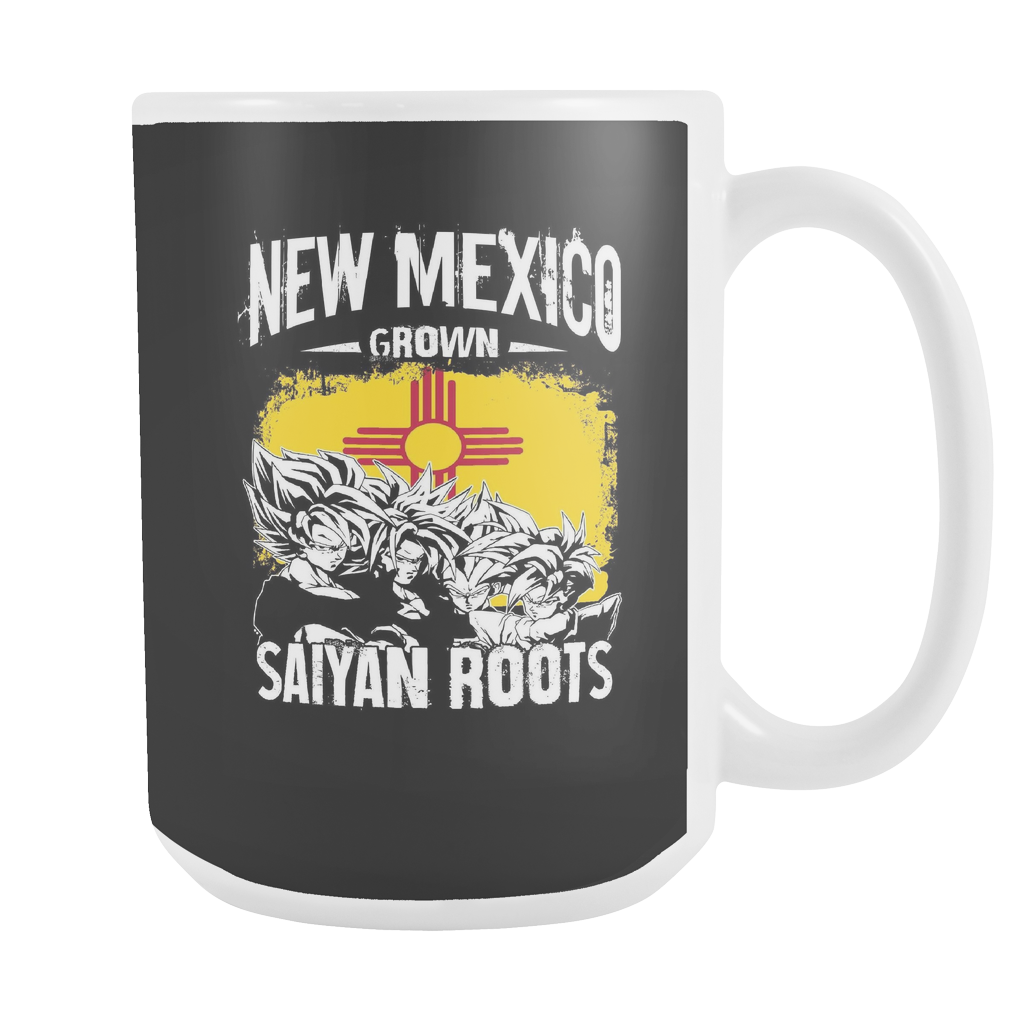 Super Saiyan New Mexico Grown Saiyan Roots Hoodie Shirt - TL00157M5