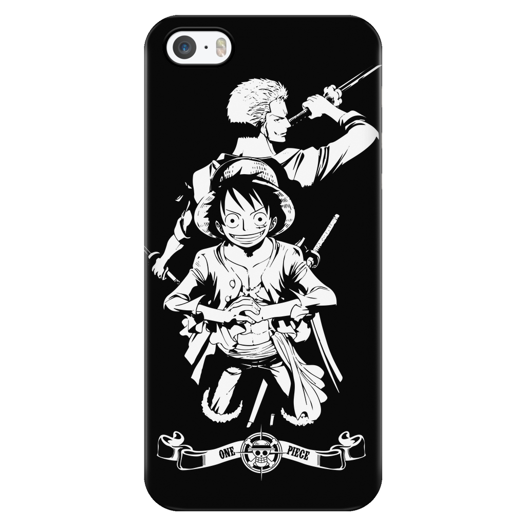 One Piece - Luffy and Zoro - Iphone Phone Case - TL01057PC – TC ... b7190d4fd