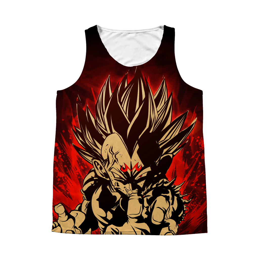 Super Saiyans Vegeta 1 Sided 3D tank top t shirt - TL00423AT