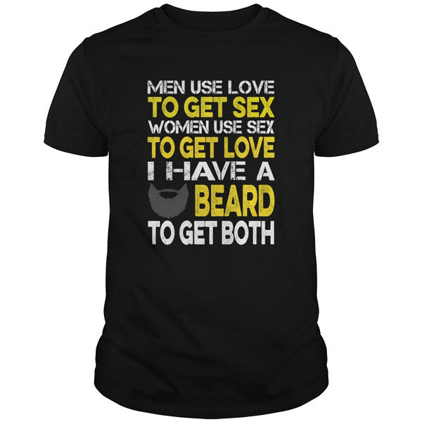 Beards - BEARD TO GET BOTH - Men Short Sleeve T Shirt - SSID2016