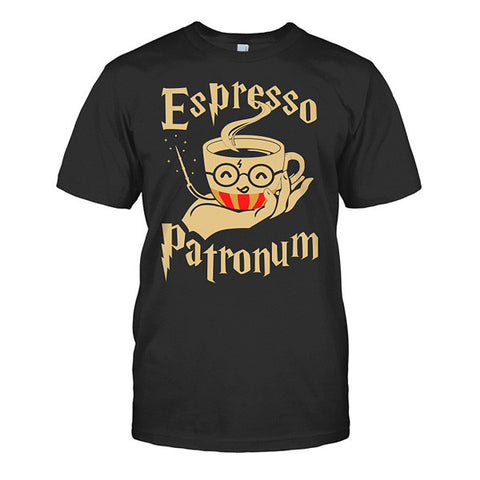 Harry Potter- Espresso Patronum -Men Short Sleeve T Shirt - SSID2016